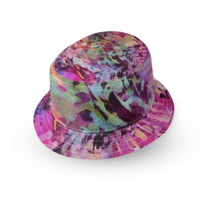 Bucket Hat Watercolor Texture 14