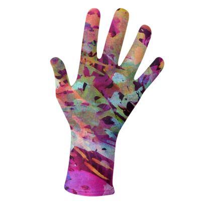 Lycra Gloves Watercolor Texture 14