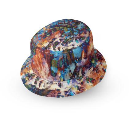 Bucket Hat Watercolor Texture 15