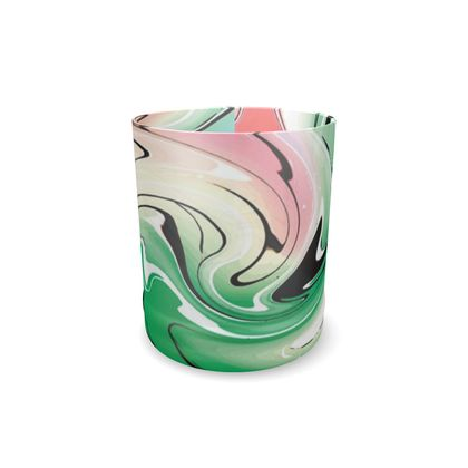 Whisky Glass - Multicolour Swirling Marble Pattern 1 of 12
