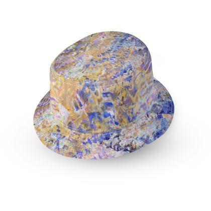 Bucket Hat Watercolor Texture 01