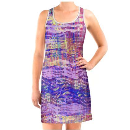Vest Dress Watercolor Texture 14