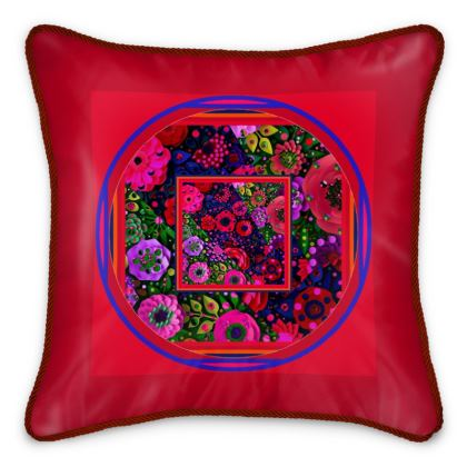 cuscino in seta elegante