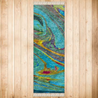 Runner (180x63cm) - Abstract Diesel Rainbow 1