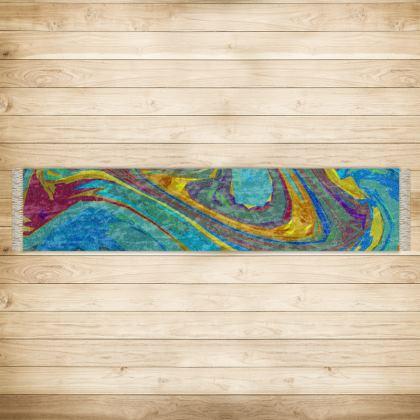 Long Runner (290x63cm) - Abstract Diesel Rainbow 1