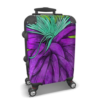 Suitcase - Tropical Plant