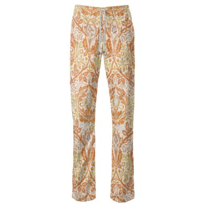 Womens Trousers - William Morris' Golden Bough Remaster