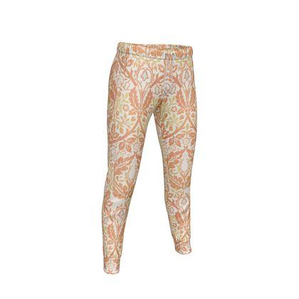 Womens Jogging Bottoms - William Morris' Golden Bough Remaster