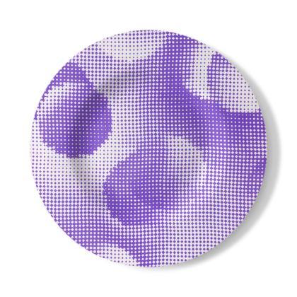 Decorative Plate - Endleaves of Art. Taste. Beauty (1932) Purple Remix