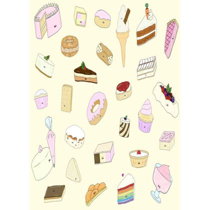 'Flirty Desserty' Trays