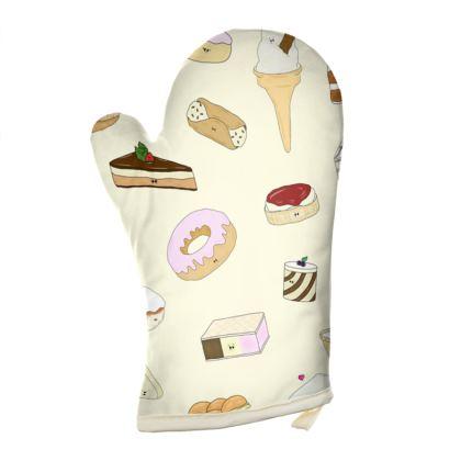 'Flirty Desserty' Oven Glove