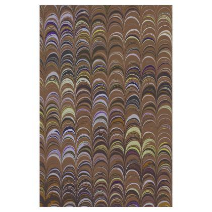 Glasses Case Pouch - Around Ex Libris Brown Remix (1800 -1950)