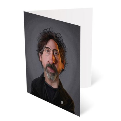 Tim Burton Celebrity Caricature Occasions Cards