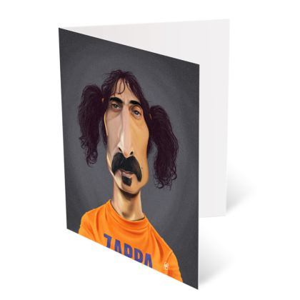 Frank Zappa Celebrity Caricature Occasions Cards
