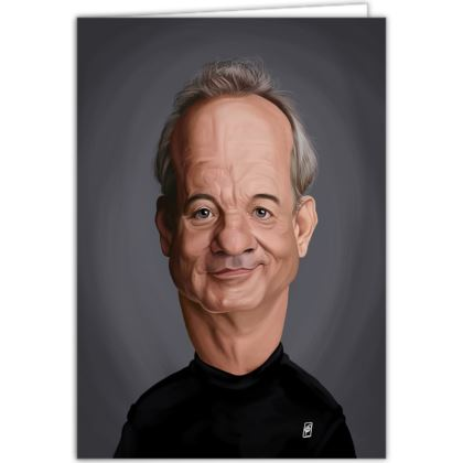 Bill Murray Celebrity Caricature Occasions Cards