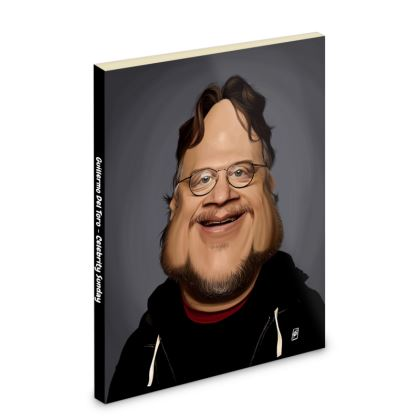 Guillermo Del Toro Celebrity Caricature Pocket Note Book