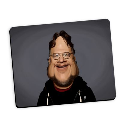 Guillermo Del Toro Celebrity Caricature Mouse Mat