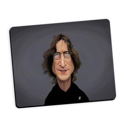 John Lennon Celebrity Caricature Mouse Mat