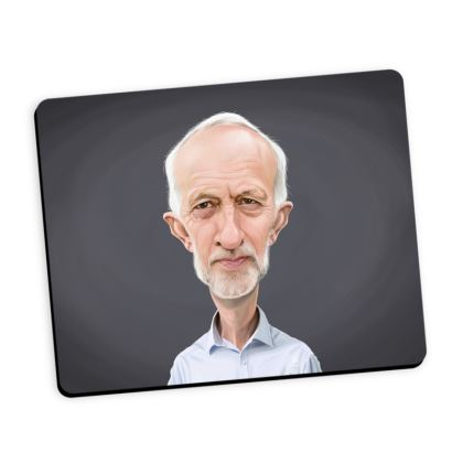 Jeremy Corbyn Celebrity Caricature Mouse Mat