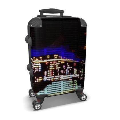 Koffer mit vier Rollen - Design K-Town