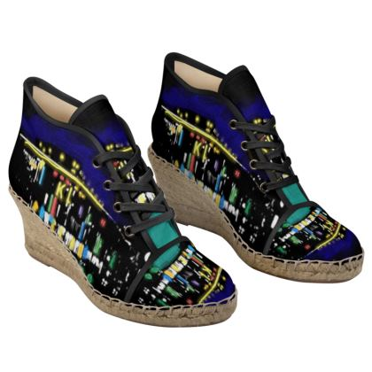 Bequemer Espdrilles Schuh für Frauen - K-Town