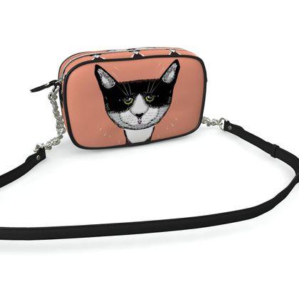 Kamera Tasche für Katzenliebhaber mit Reißverschluss