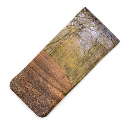 Glasses Case Pouch - Open Clearing in Clapham Woods