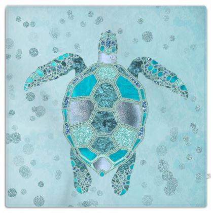 Glamorous Sea Turtle Picnic Blanket