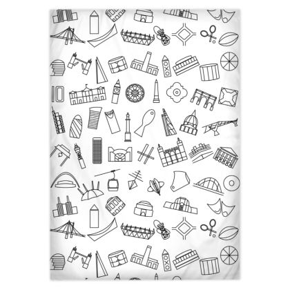 Contemporary London Icon Duvet Covers
