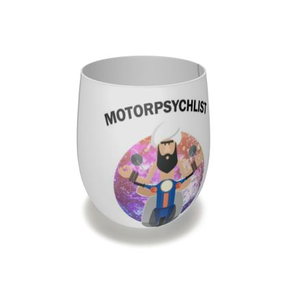 Water Glass - Guru Motorpsychlist Funny Pun