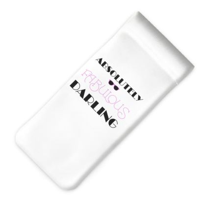 Glasses Case Pouch - Absolutely Fabulous Darling - ABFAB