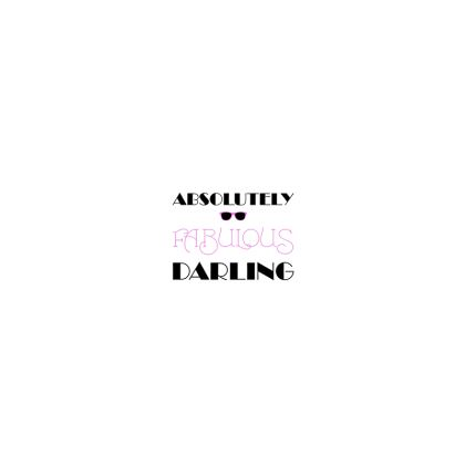Hard Glasses Case - Absolutely Fabulous Darling - ABFAB
