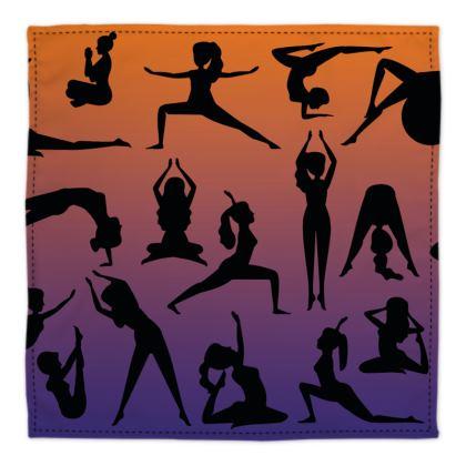 Bandana - Burnt Sunset Yoga Poses