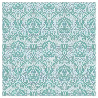 Strapless Swimsuit - William Morris' Golden Bough Jade Remix