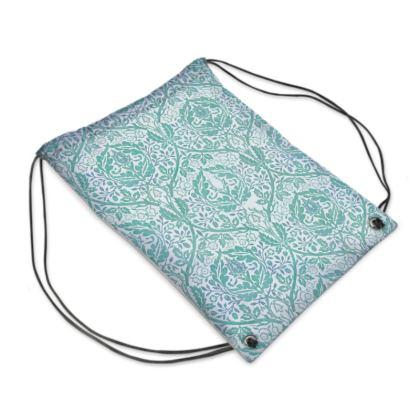 Swim Bag - William Morris' Golden Bough Jade Remix