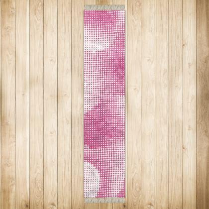 Long Runner (290x63cm) - Endleaves of Art. Taste. Beauty (1932) Pink Remix
