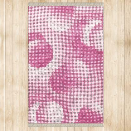 Large Rug (128x200cm) - Endleaves of Art. Taste. Beauty (1932) Pink Remix
