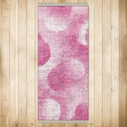 XL Rug (128x290cm) - Endleaves of Art. Taste. Beauty (1932) Pink Remix