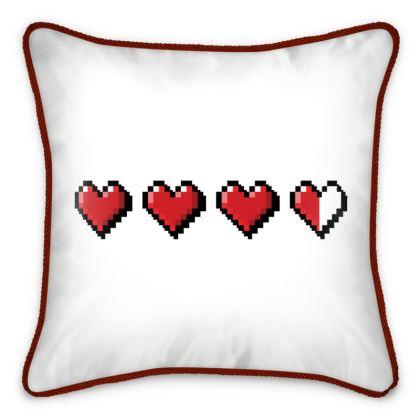 Silk Cushions - Pixel Hearts - Damage Taken Health Bar