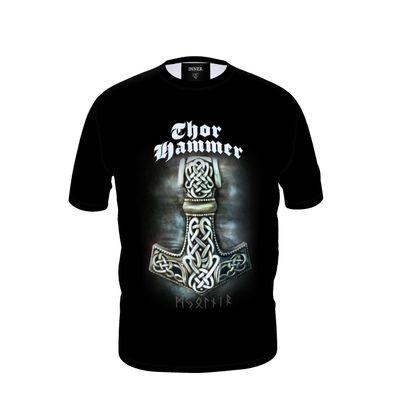 T-shirt Viking Collection - Thor Hammer ( Mjöllnir )