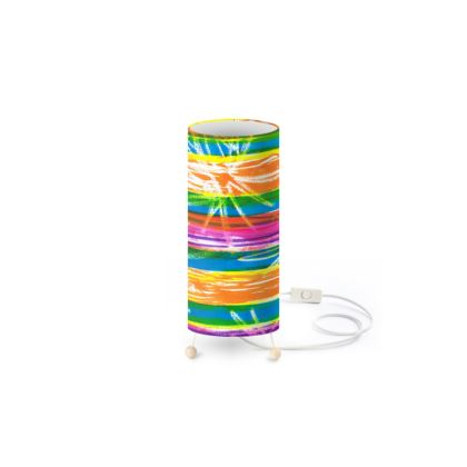 Rainbow Stripes Standing Lamp