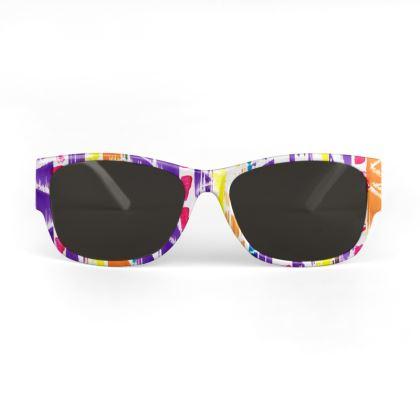 Zigzag Lines Sunglasses