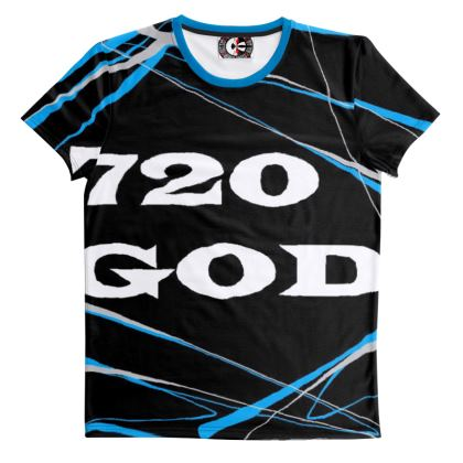 720GOD Blue Tshirt