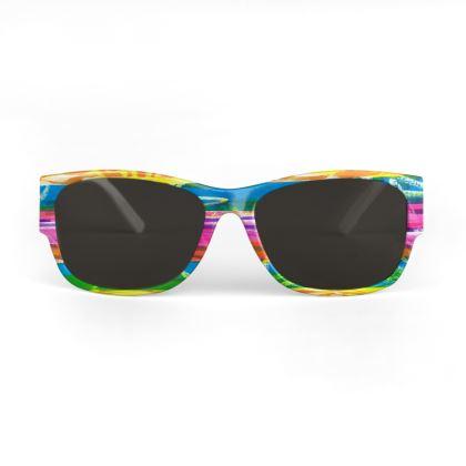 Rainbow Stripes Sunglasses
