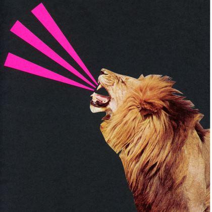 Velvet Cushion ROAR