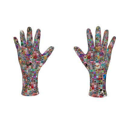 Fleece Gloves Granny Madness