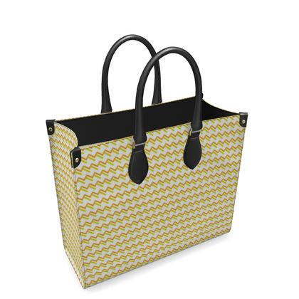 Perspective A Large Leather Shopper Bag - Option Two