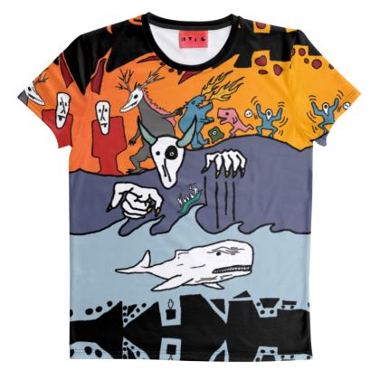 The Terrors of Moby Richard T Shirt