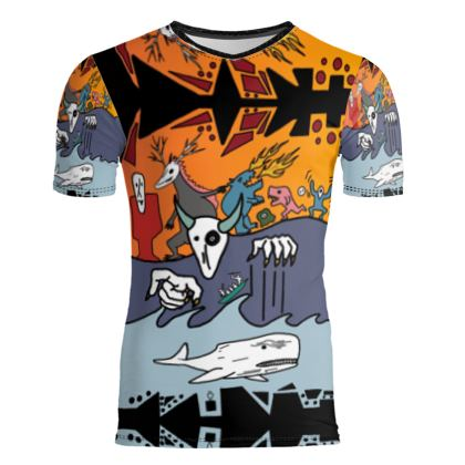 The Terrors of Moby Richard Slim T Shirt