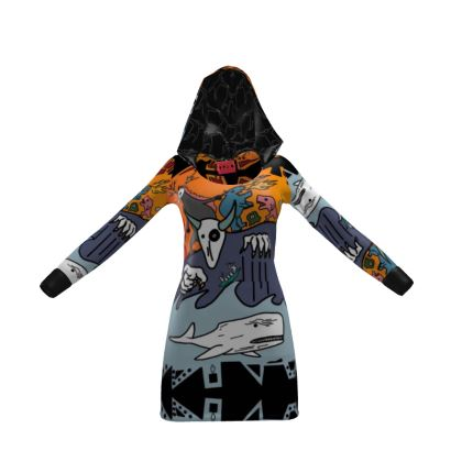 The Terrors of Moby Richard Hoody Dress